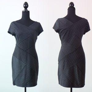 BCBGMAZAZRIA petites - edgy stretchy dress